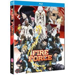 Fire Force Season 2 Part 1 - Blu-ray/DVD Combo + Digital Copy