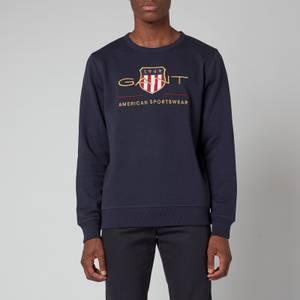 GANT Men's Archive Shield Sweatshirt - Evening Blue