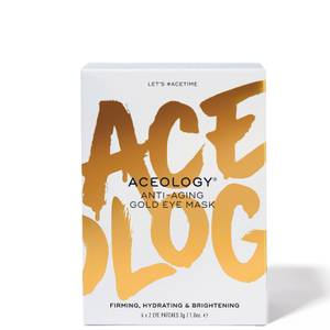 Aceology Anti-Aging Gold Eye Mask (6 Pack)