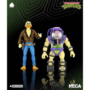 NECA Teenage Mutant Ninja Turtles Action Figure 2 Pack 1/10 Scale Ace Duck & Mutagen Man TMNT