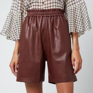 Munthe Women's Pantas Shorts - Bordeaux