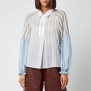 Munthe Women's Pineapple Shirt - Blue