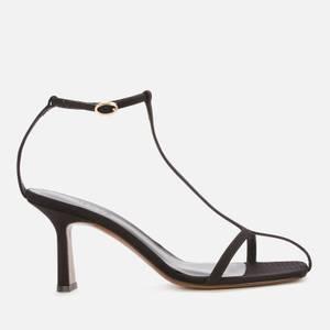 Neous Women's Jumel Leather Heeled Sandals - Black
