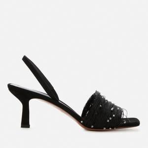 Neous Women's Syrma Slingback Heeled Sandals - Black