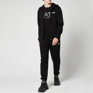 EA7 Men's Core ID Hooded Tracksuit - Black