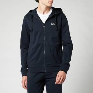 EA7 Men's Core ID Hooded Tracksuit - Night Blue