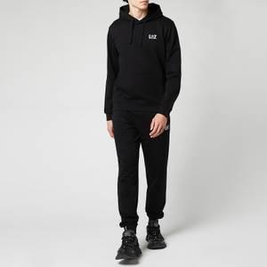 EA7 Men's Core ID Popover Hoodie - Black