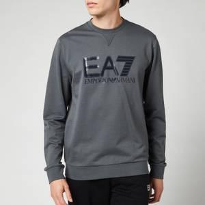 EA7 Men's Visibility Sweatshirt - Iron Gate