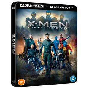 X-Men: Days of Future Past - Steelbook Lenticulaire 4K Ultra HD (Blu-ray inclus) - Exclusivité Zavvi