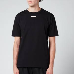 Maison Margiela Men's Chest Tab T-Shirt - Black