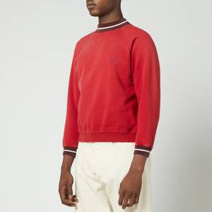 Maison Margiela Men's Cropped Sweatshirt - Red