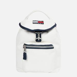 Tommy Jeans Women's Heritage Small Flap Backpack - White