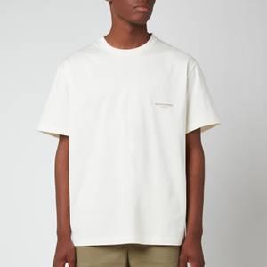 Wooyoungmi Men's Box Logo T-Shirt - Ivory