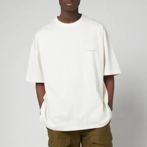 Wooyoungmi Men's Back Script T-Shirt - Ivory