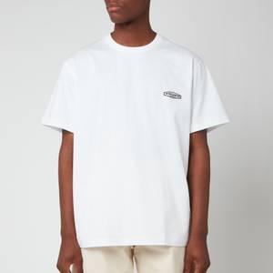 Wooyoungmi Men's Back Script Logo T-Shirt - White