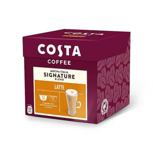 Costa NESCAFE® Dolce Gusto® Compatible Latte Coffee Pods - 8 Servings