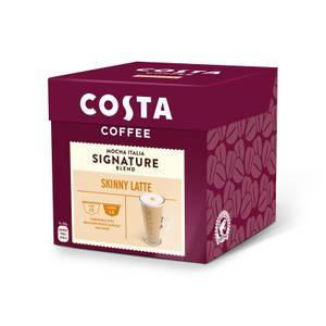 Costa NESCAFE® Dolce Gusto® Compatible Skinny Latte Coffee Pods - 8 Servings