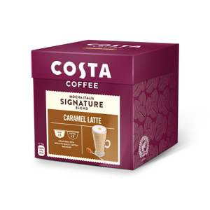 Costa NESCAFE® Dolce Gusto® Compatible Caramel Latte Coffee Pods - 8 Serving