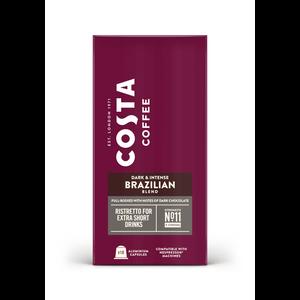 Costa Nespresso® Compatible Brazilian Blend Ristretto - 10 pods