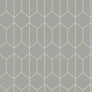 Arthouse Linear Geo Grey Wallpaper