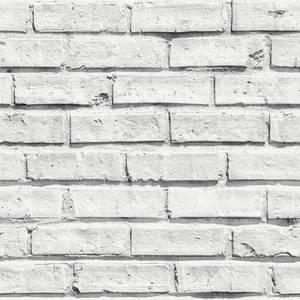 Arthouse White Brick Wipe Clean Wallpaper