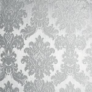 Arthouse Opulence Silver Wallpaper