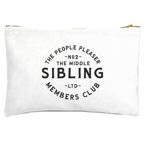 The Middle Sibling The People Pleaser Zipped Pouch