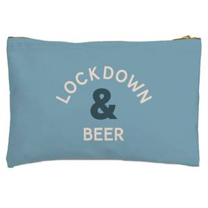Lockdown & Beer Zipped Pouch