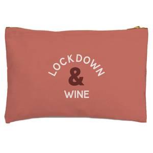 Lockdown & WIne Zipped Pouch