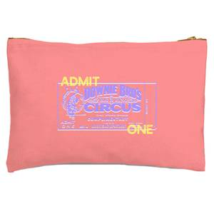Circus Admittance Zipped Pouch