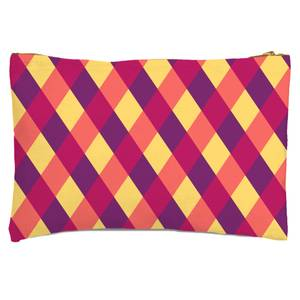 Circus Pattern Zipped Pouch