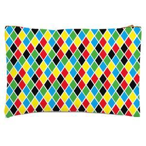 Clown Pattern Zipped Pouch