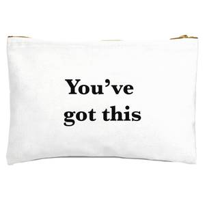 You've Got This Zipped Pouch