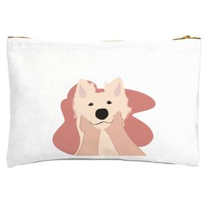 Doggy Smiles Zipped Pouch
