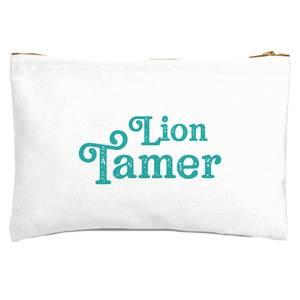 Lion Tamer Zipped Pouch