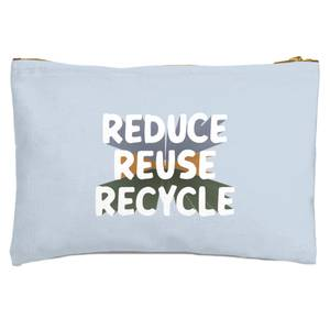 Reduce, Reuse, Recycle Zipped Pouch