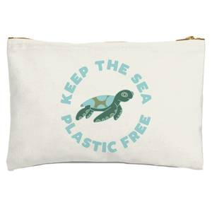 Keep The Sea Plastic Free Zipped Pouch