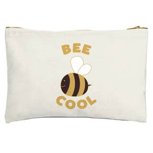Bee Cool Zipped Pouch