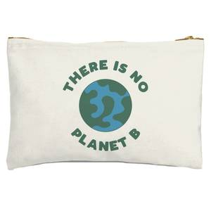 There Is No Planet B Zipped Pouch