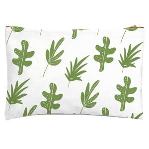 Multi Leaves Zipped Pouch