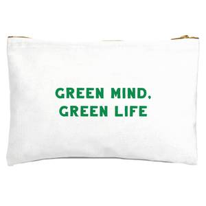 Green Mind, Green Life Zipped Pouch
