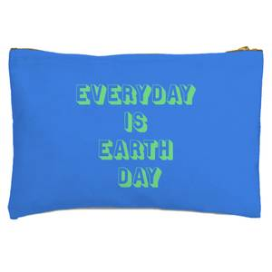 Everyday Is Earth Day Zipped Pouch
