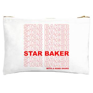 Star Baker With A Hand Shake Zipped Pouch