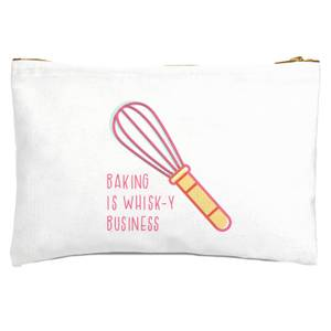Baking Is Whisk-y Business Zipped Pouch