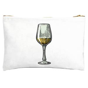 White Wine Zipped Pouch