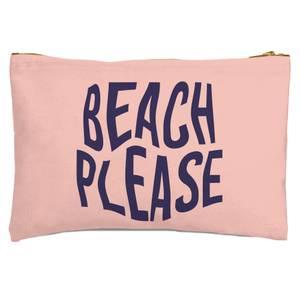 Beach Please Zipped Pouch