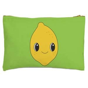 Cute Lemon Zipped Pouch