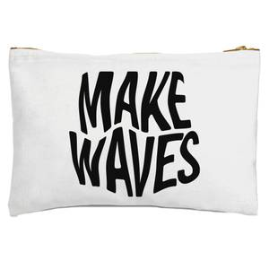 Make Waves Zipped Pouch