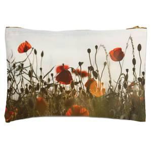 Summer Flowers Zipped Pouch