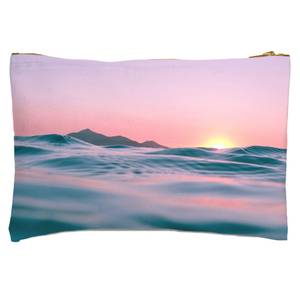 Sunset With Water Zipped Pouch